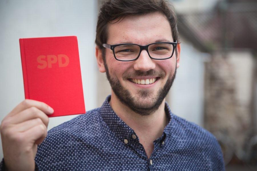 Bild: Marcel aus Bonn ist Mitglied bei der NRWSPD